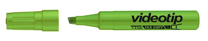 Szövegkiemelő, 1-4 mm, ICO Videotip, zöld