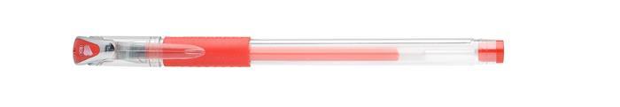 Zseléstoll, 0,5 mm, kupakos, ICO Gel-Ico, piros