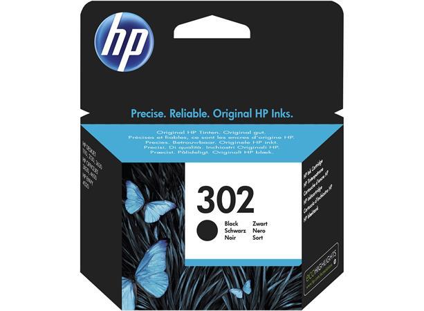 F6U66AE Tintapatron DeskJet 2130 nyomtatókhoz, HP 302, fekete, 3,5ml