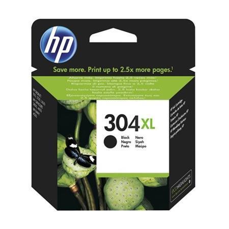 N9K08AE Tintapatron DeskJet 3720, 3730 nyomtatóhoz, HP 304XL, fekete