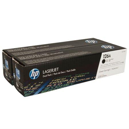 CE310AD Lézertoner ColorLaserJet Pro CP1025 nyomtatóhoz, HP 126A fekete, 2*1,2k