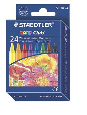 Zsírkréta, STAEDTLER Noris 220, 24 különböző szín