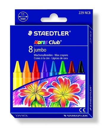 Zsírkréta, STAEDTLER Noris Jumbo 229, 8 különböző szín