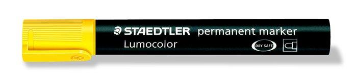 Alkoholos marker, 2 mm, kúpos, STAEDTLER Lumocolor 352, sárga