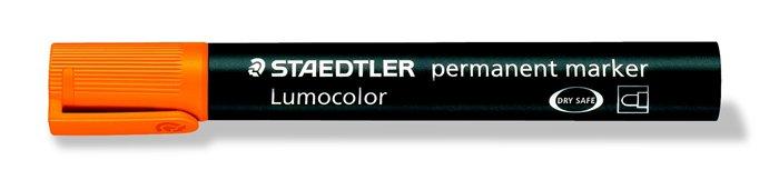 Alkoholos marker, 2 mm, kúpos, STAEDTLER Lumocolor 352, narancssárga