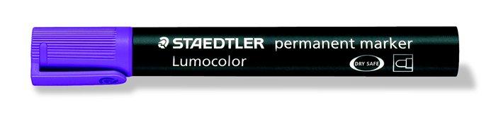 Alkoholos marker, 2 mm, kúpos, STAEDTLER Lumocolor 352, lila