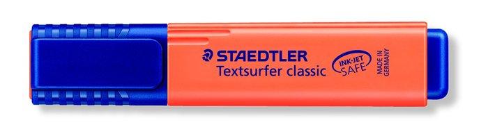 Szövegkiemelő, 1-5 mm, STAEDTLER Textsurfer Classic, narancssárga