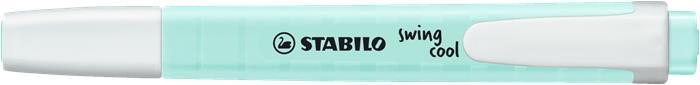 Szövegkiemelő, 1-4 mm, STABILO Swing Cool Pastel, türkiz