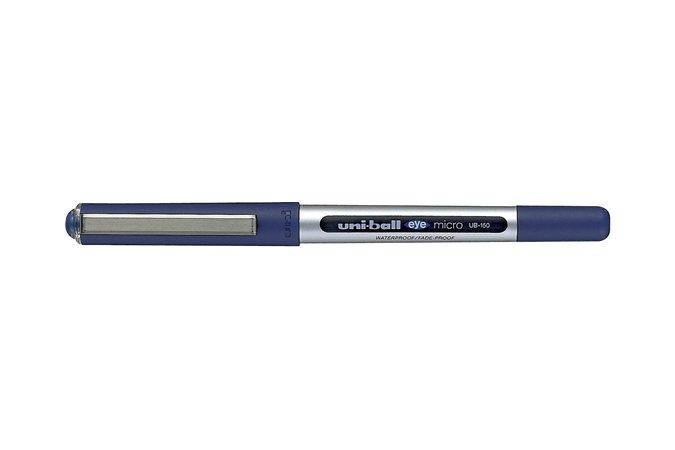 Rollertoll, 0,3 mm, UNI UB-150 Eye Micro, kék
