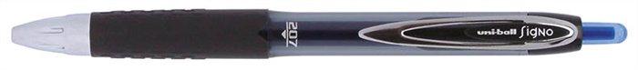 Zseléstoll, 0,4 mm, nyomógombos, UNI UMN-207 Signo, kék