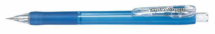 Nyomósirón, 0,5 mm, ZEBRA Tapli Clip