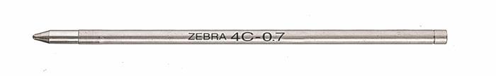 Golyóstollbetét, 0,24 mm, ZEBRA 4C, kék