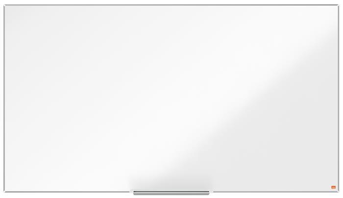 Fehértábla, NanoClean™ felületű, mágneses, széles képarány, 70/155x87 cm, alumínium keret, NOBO Impression Pro