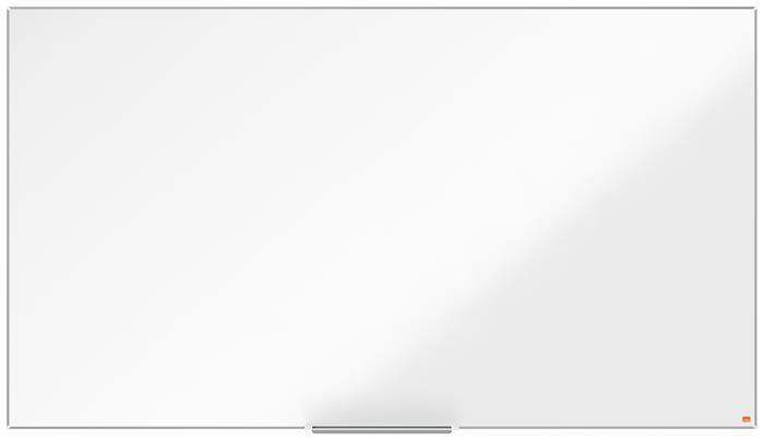 Fehértábla, NanoClean™ felületű, mágneses, széles képarány, 85/188x106 cm, alumínium keret, NOBO Impression Pro