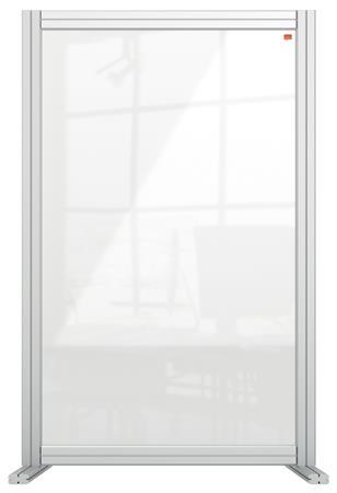 NOBO Premium Plus asztali válaszfal | átlátszó | akril | 600x1000 mm
