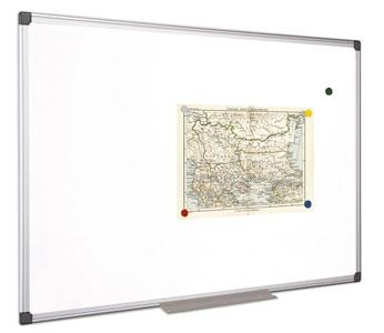 Victoria mágneses fehértábla | alumínium keret | 100x100 cm