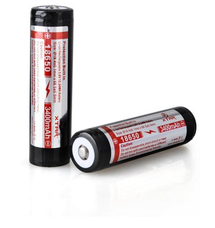 Xtar 18650 Li.ion akkumulátor, 3400mA