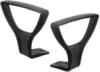 BR25 Jazz fix magasságú karfa forgószékekhez | fekete