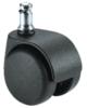 d.50 görgő forgószékhez | kemény felületre | 50 mm átmérő | 11 mm csap átmérő