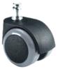 d.50 görgő forgószékhez | parkettára | automata fékes | 50 mm átmérő | 11 mm csap átmérő
