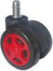 d.60 görgő forgószékhez | design | kemény felületre | 55 mm átmérő | 11 mm csap átmérő