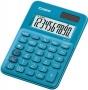 Számológép, asztali, 10 számjegy, CASIO 'MS 7UC', kék
