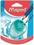 Hegyező, kétlyukú, tartályos, MAPED 'I-Gloo', vegyes színek