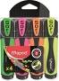 Szövegkiemelő készlet, 1-5 mm, MAPED 'Ultra Soft', 4 különböző szín