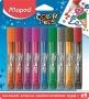 Csillámos ragasztó, MAPED 'Color`Peps', 9 különböző szín