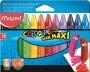 Zsírkréta, MAPED 'Color`Peps MAXI Wax', 12 különböző szín