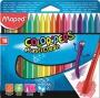 Zsírkréta, MAPED 'Color`Peps' PlastiClean, 18 különböző szín