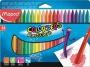 Zsírkréta, MAPED 'Color`Peps' PlastiClean, 24 különböző szín