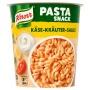 Instant készétel, 65 g, KNORR 'Snack', tészta sajtos-zöldfűszeres szósszal
