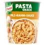 Instant készétel, 70 g, KNORR 'Snack', tészta gombás-tejszínes szósszal