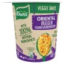 Instant készétel, 64 g, KNORR 'Snack', ázsiai fűszeres bulgur paradicsommal és csicseriborsóval
