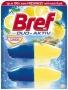 WC illatosító gél utántöltő, 2x50 ml, BREF 'Duo Aktiv', citrus