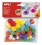 Pom-pom, APLI 'Creative', vegyes színek