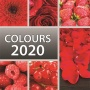 Naptár, fali, TOPTIMER, 'Colours'