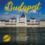 Naptár, fali, SZÁZSZORKÉP, 'Budapest'