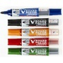 Táblamarker készlet, 2,3 mm, kúpos, tartóval és szivaccsal, PILOT 'V-Board Master', 5 különböző szín