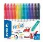 Filctoll készlet, 0,39-0,7 mm, törölhető, PILOT 'Frixion Colors', 12 különböző szín