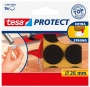 Filckorong, karcolásgátló, 26 mm, TESA 'Protect®', barna