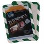 Tarifold Magneto Safety mágneses tasak | zöld-fehér | mágneses háttal | A4