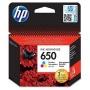 CZ102E Tintapatron Deskjet Ink Advantage 2510 sor nyomtatókhoz, HP 650, színes, 200 oldal