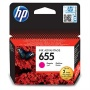 CZ111E Tintapatron Deskjet Ink Advantage 3520 sor nyomtatókhoz, HP 655, magenta, 600 oldal