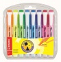 Szövegkiemelő készlet, 1-4 mm, STABILO 'Swing Cool', 8 különböző szín