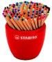 Tűfilc display, 0,4 mm, STABILO 'Point 88 kerámia', vegyes színek