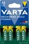 Tölthető elem, AA ceruza, 4x2100 mAh, előtöltött, VARTA 'Power'