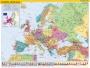 Könyökalátét, kétoldalas, STIEFEL, 'Európa országai/Európa gyerektérkép'