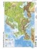 Tanulói munkalap, A4, STIEFEL 'Európa domborzata/Európa vaktérképpel